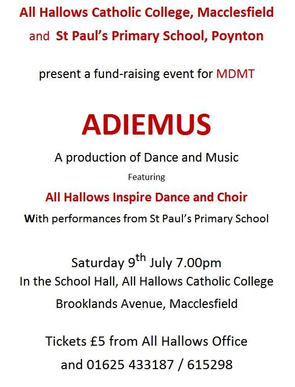 Adiemus Fundraising Event