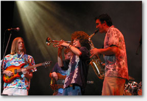 Youthful Jazz Ensemble in full flow